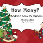 Addition book...Christmas Edition