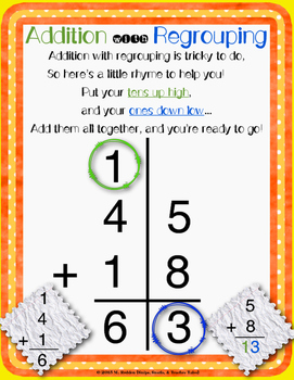 Math worksheets addition and subtraction without regrouping