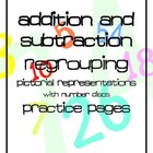 Addition/Subtraction Regrouping with Number Discs like Sin