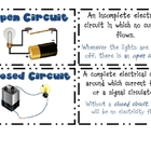 Additional Electricity & Magnetism Vocabulary Cards