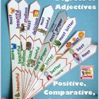 Adjective Activities for Comparing Positive Comparative an