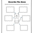 Adjective Activity - Describe the Cat