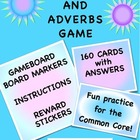 Adjective Adverb Game