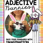 Adjective Bunnies - Craftivity + Center Activities
