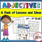 Adjective Lesson, Ideas, Activities and Class Games