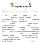 Adjective Madlibs