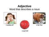 Adjective Poster with Pictures