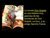 Adjective Practice Using Don Quixote & Sancho Panza
