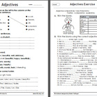 Adjective Worksheets 1