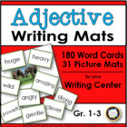 Adjective Writing Mats