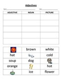 Adjective and Noun Picture Matching