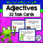 Adjectives Task Cards - Grammar Practice Set