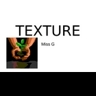 Adjectives:  Texture  powerpoint