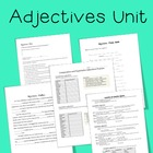 Adjectives Unit Materials