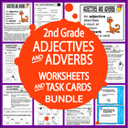 Adjectives and Adverbs-Second Grade Common Core Lesson