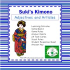 Adjectives and Articles:  Suki&#039;s Kimono