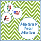 Adjectives and Proper Adjectives Worksheet