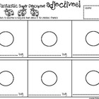 Adjectives - bugs worksheet
