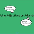 Adjectives/Adverbs SMART Notebook