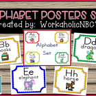 Adorable Alphabet Set for Your Classroom