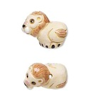 Adorably Ferocious Mascot Jewelry: Lion Earrings