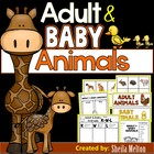 Adult and Baby Animals {Real pictures for sorting, recordi