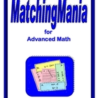 Advanced Math MatchingMania Digital Download