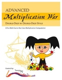 Multiplication War – Advanced Level Math Game: Double-Digi
