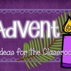 Advent Classroom Ideas Freebie