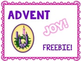 Advent Joy Freebie