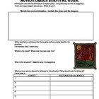 Adventurer's Survival Guide Creative Writing Activity:  Pl