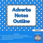 Adverb Notes Outline