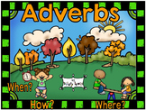 Adverb Sentence Flippers-Ask How? When? Where?