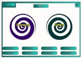 Adverb and Verb Vortex Game