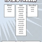 Adverbs Puzzle Set (Word Search & Crossword)