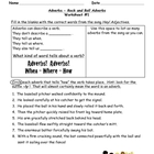 Adverbs Worksheet Packet and Lesson Plan - 8 pages plus an