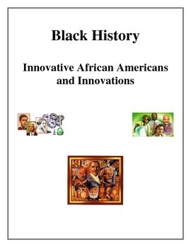 African American Inventors and Innovations, Black History