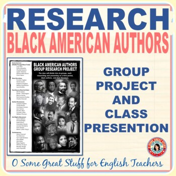 African American Literature Group Research Project