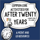 """After Twenty Years"" by O. Henry Common Core Lesson Plans"