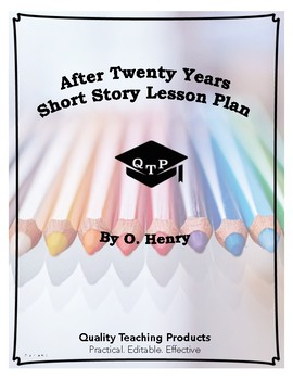 After Twenty Years by O. Henry Lesson Plan, Worksheets, Ke