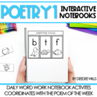 After the Poem-Interactive Poetry Notebooks CCSS aligned