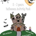 Age 5 - 7 Halloween Activity Pack