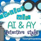 Ai & AY Mini-Lesson and {7 Word Work Activities}