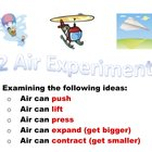 Air Experiments for Primary Students