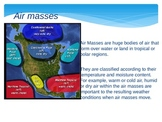 Airmasses & Fronts PowerPoint! Great Animation included!