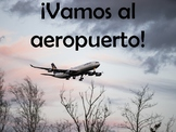 Airport (El aeropuerto) Power Point in Spanish (82 slides)