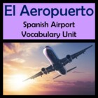 Airport Vocabulary Lists, Activities, Crossword, Games, &amp; 
