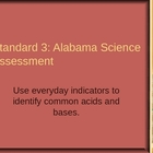 Alabama Science Assessment Grade 5 Standard 3