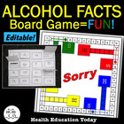 "Alcohol Facts ""Sorry"" Board Game- A Fun + Educational Heal"