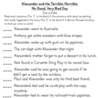 Alexander and the Terrible . . .  Day Literature Unit